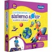Quebra-Cabeça Grandão - Conhecendo o Sistema Solar - 120 Peças - Toyster