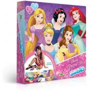 Quebra Cabeça Infantil Grandão - Princesa Disney