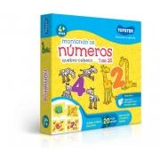 Quebra-Cabeça Montando os Números do 1 ao 20 - 20 Peças - Toyster