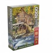 Quebra Cabeça Puzzle 1000 Peças Outono Na América Grow
