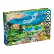 Quebra-Cabeça Puzzle Alpes Italianos - 6000 Peças - Grow
