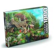 Quebra-Cabeça Puzzle Casa no Lago - 1000 Peças - Grow