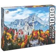 Quebra-Cabeça Puzzle - Castelo de Neschwanstein - 1000 peças - Grow