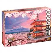 Quebra-Cabeça Puzzle Monte Fuji - 5000 Peças - Grow