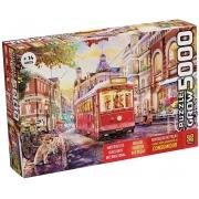 Quebra-Cabeça Puzzle Passeio de Bonde - 5000 Peças  - Grow