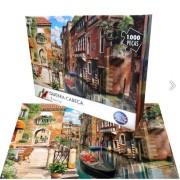 Quebra-Cabeça Puzzle - Veneza - 1000 peças - Pais&Filhos