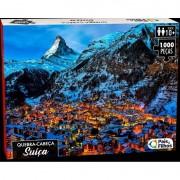 Quebra-Cabeça Suíça 1000 peças - Pais & Filhos