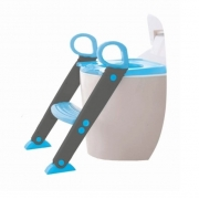 Redutor Assento Infantil com Escadinha Azul - Baby Style