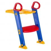 Redutor Assento Infantil com Escadinha Colorido - Baby Style