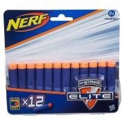 Refil Nerf Elite 12 Dardos - Hasbro 0350