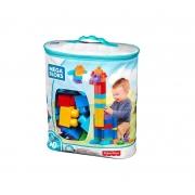 Sacola Mega Bloks de 80 Blocos - Mattel
