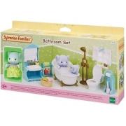 Sylvanian Families - Conjunto Toalete e Banho com Irmã Elefante - Epoch