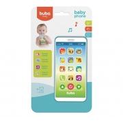 Telefone Infantil Baby Phone Azul - Buba