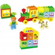 Trenzinho Locomotiva Animais - Zoop Toys