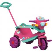 Triciclo Infantil Gatinha Velo Baby - Bandeirante
