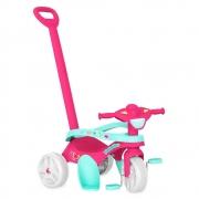 Triciclo Mototico Passeio e Pedal Rosa - Bandeirante