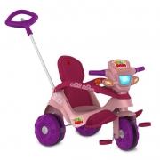 Triciclo Velocípede Reclinável Passeio Rosa - Bandeirante