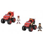 Veículo Blaze Monster Machines Blaze e AJ - Mattel