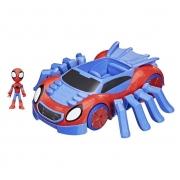 Veículo - Disney - Marvel - Spidey and His Amazing Friends - Super Carro-Aranha - Hasbro F1460