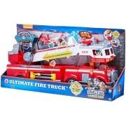 Veículo e Mini Figura - Caminhão de Bombeiro - Resgate Extremo - Patrulha Canina