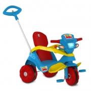 Velocípede Reclinável Passeio & Pedal Azul  Bandeirante