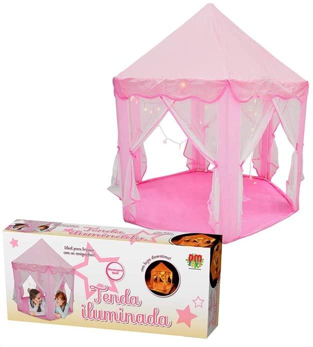 Barraca Infantil Tenda Iluminada - DM Toys