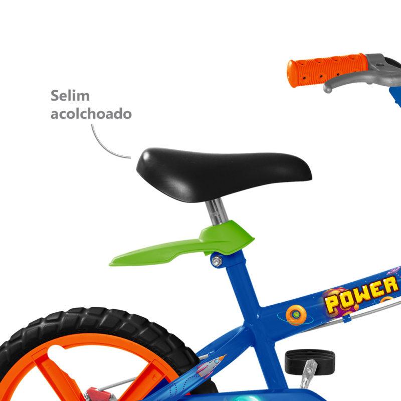 Bicicleta Aro 14 Power Game - Bandeirante