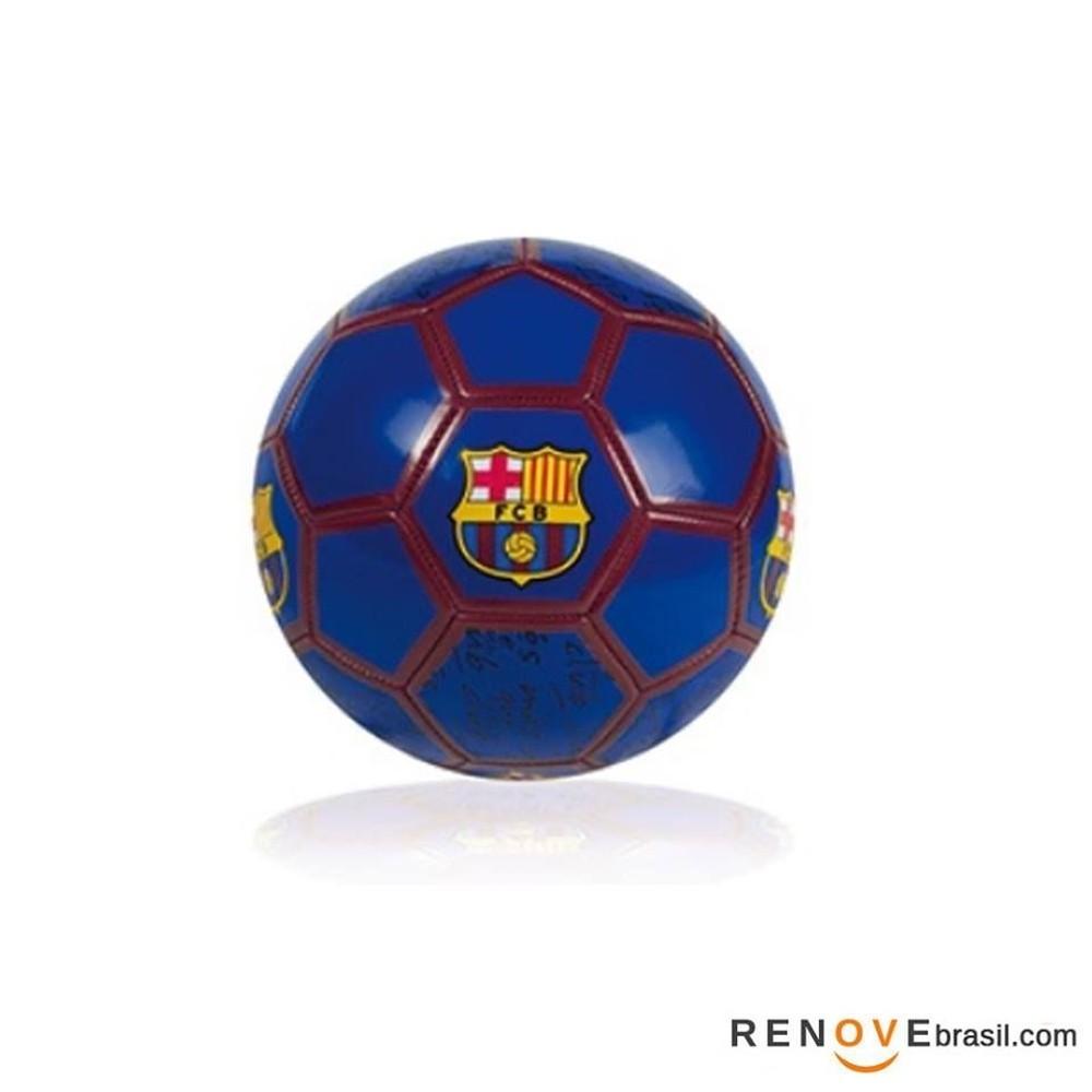 Bola De Futebol Barcelona Azul - Futebol E Magia