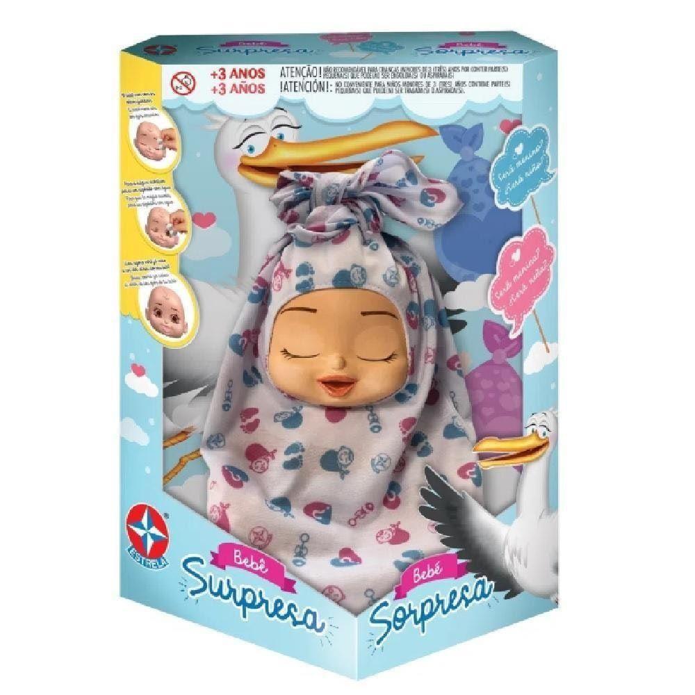 Boneca Bebê - Surpresa - Estrela