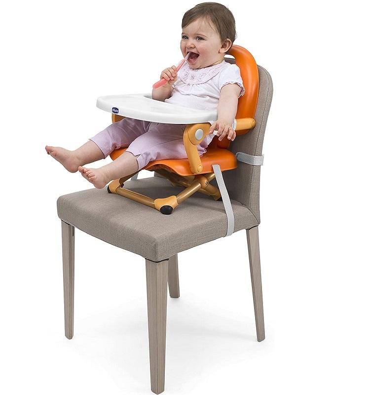 Cadeira de Alimentação - Pocket Snack - Mandarino