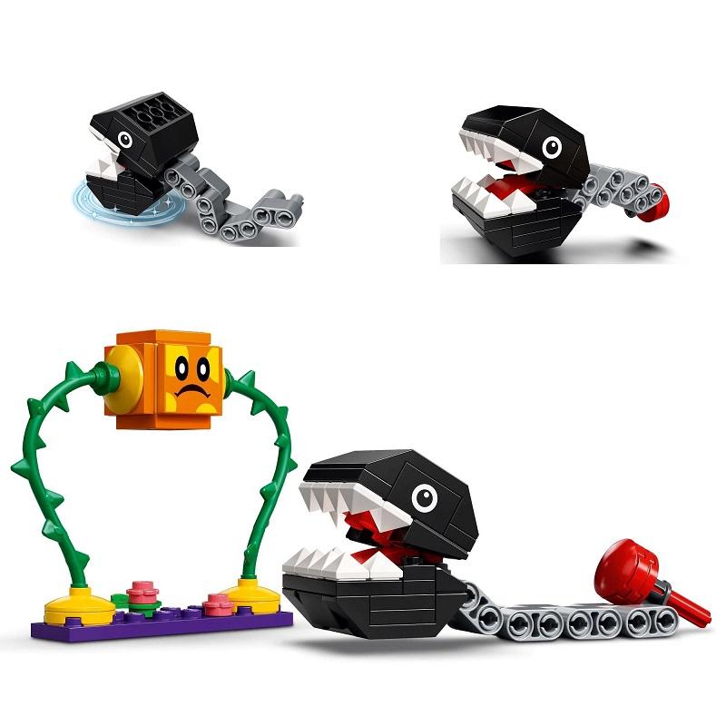LEGO Super Mario - Confronto na Selva com Chomp Chomp Expansão -160 Peças - 71381