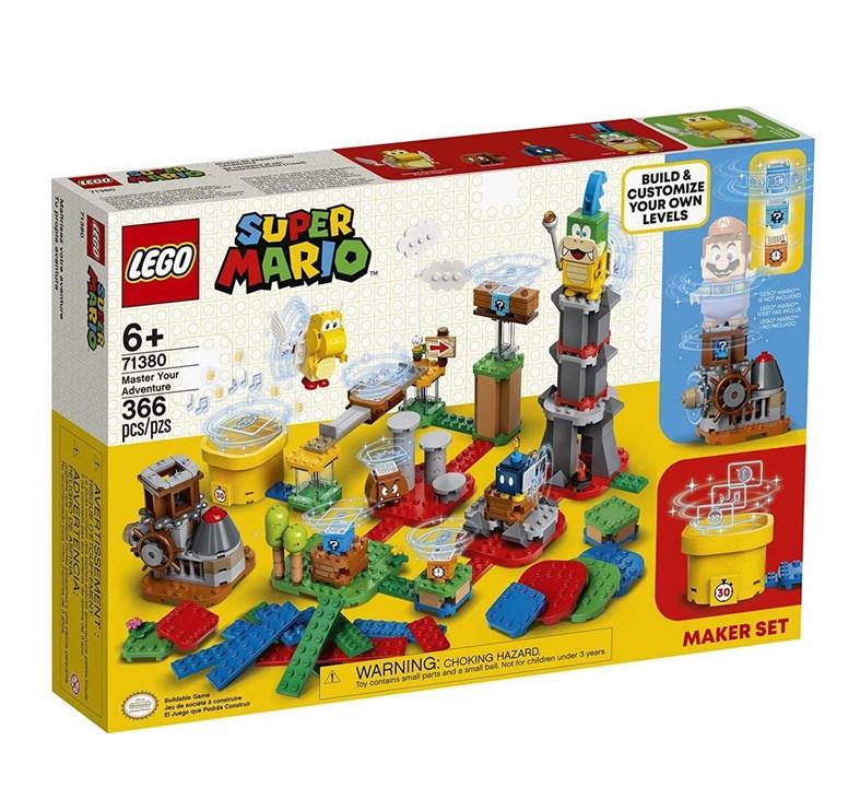LEGO SUPER MARIO Pacote Criação Domine sua Aventura - 71380