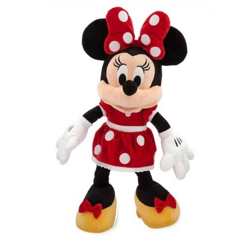 Pelúcia Minnie Vermelha com Som 33cm - Multikids
