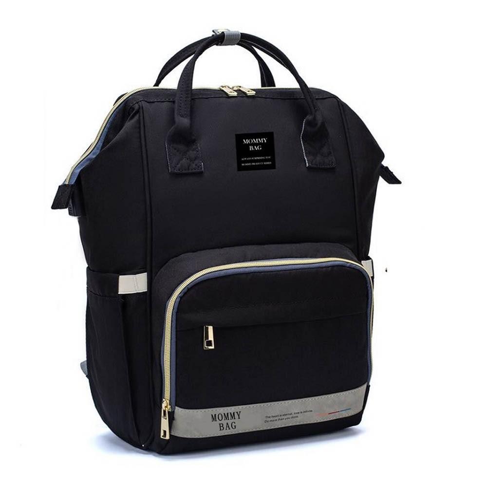 Bolsa/Mochila Maternidade Mommy Bag Com USB, Impermeável, com trocador e Porta Mamadeira Modelo Nabesco Smart Premium