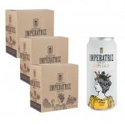 Pack Hoppy Lager 03 Caixas 18 Latas 473ml --TERCEIRA CAIXA 50% OFF-- (Unidade sai R$ 14,08)