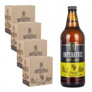 Pack Hoppy Lager 04 Caixas 24 Cervejas 600ml--QUARTA CAIXA OFF-- (Unidade sai R$ 14,17)