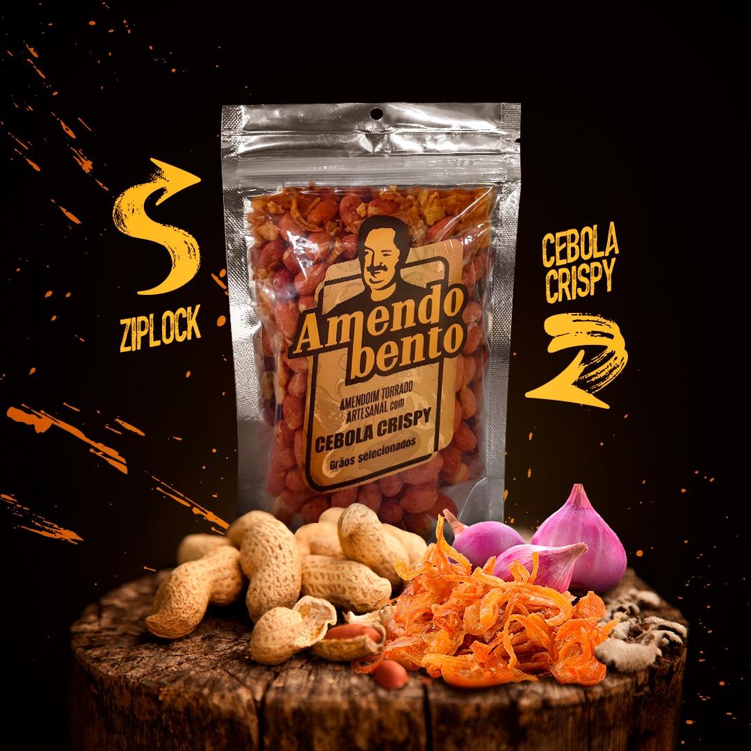 Amendoim Torrado Artesanal com Cebola Crisp