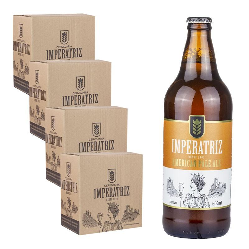 Pack APA 04 Caixas 24 Cervejas 600ml--QUARTA CAIXA OFF-- (Unidade sai R$ 14,17)