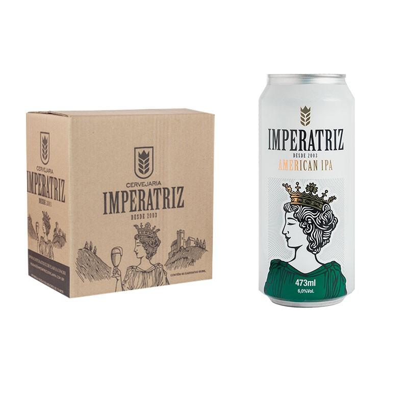 Pack IPA 06 Latas 473ml (Unidade sai R$17,78)