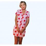 Camisola feminina estampa coração