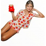 Pijama Batata Frita Malha Fria