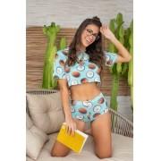 Pijama Hotpant Coco