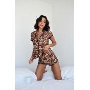 Pijama Shorts Doll Oncinha