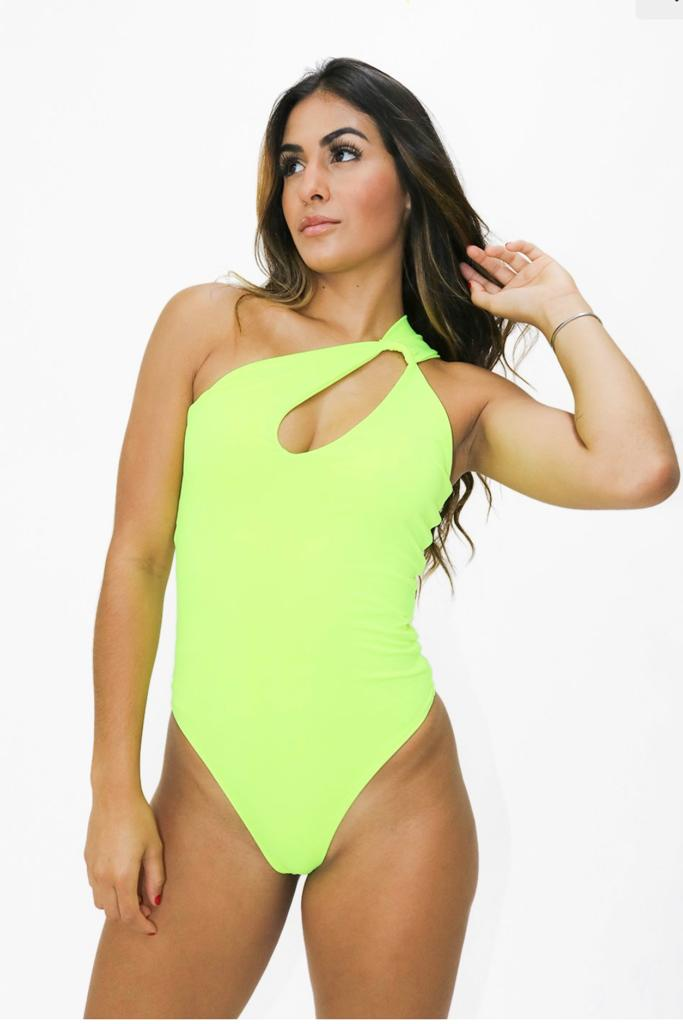 Body Maio Verde Neon