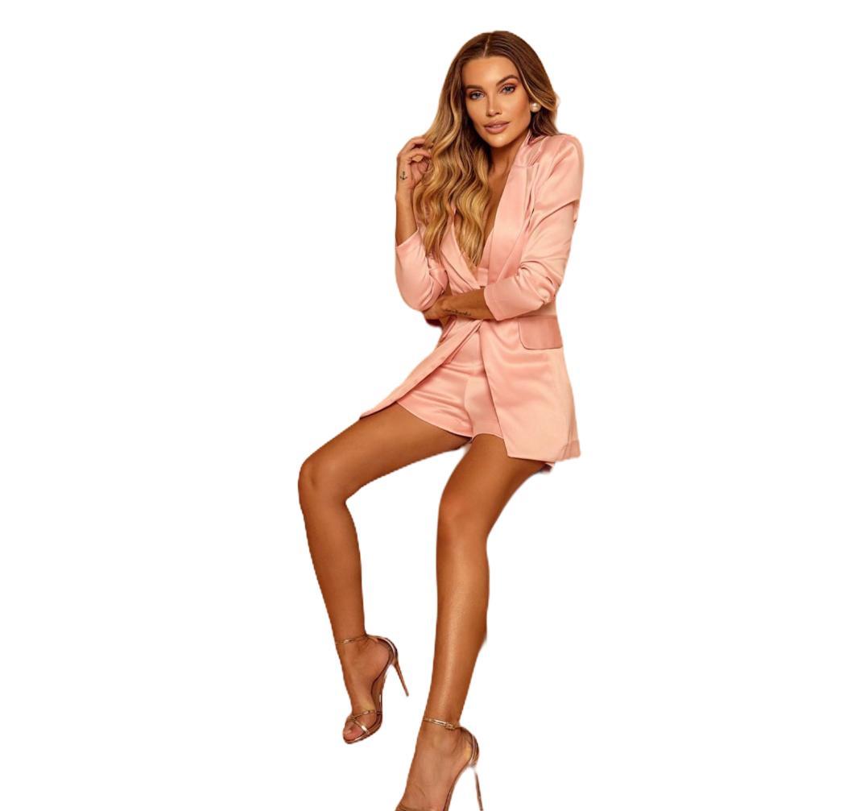 Conjunto Ariella Blazer Top e Shorts
