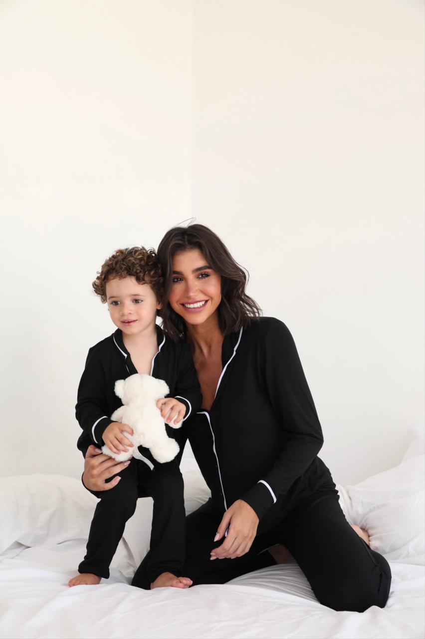 Pijama Longo Visco Infantil Cores