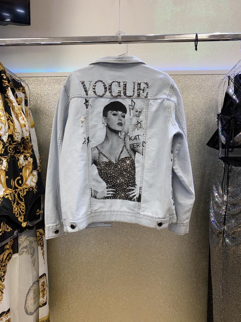 Jaqueta Jeans Vogue Katy Perry