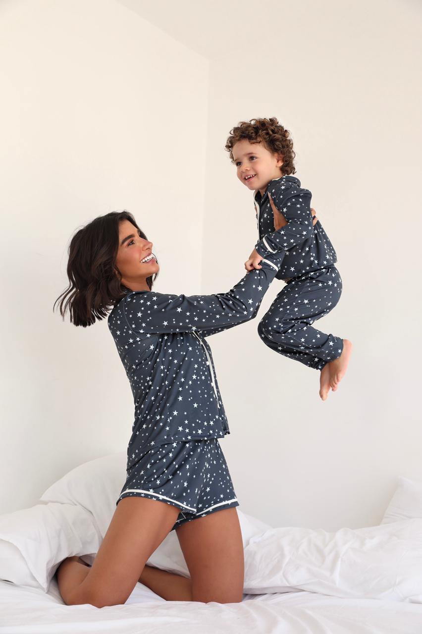 Pijama Curto Adulto Ana paula