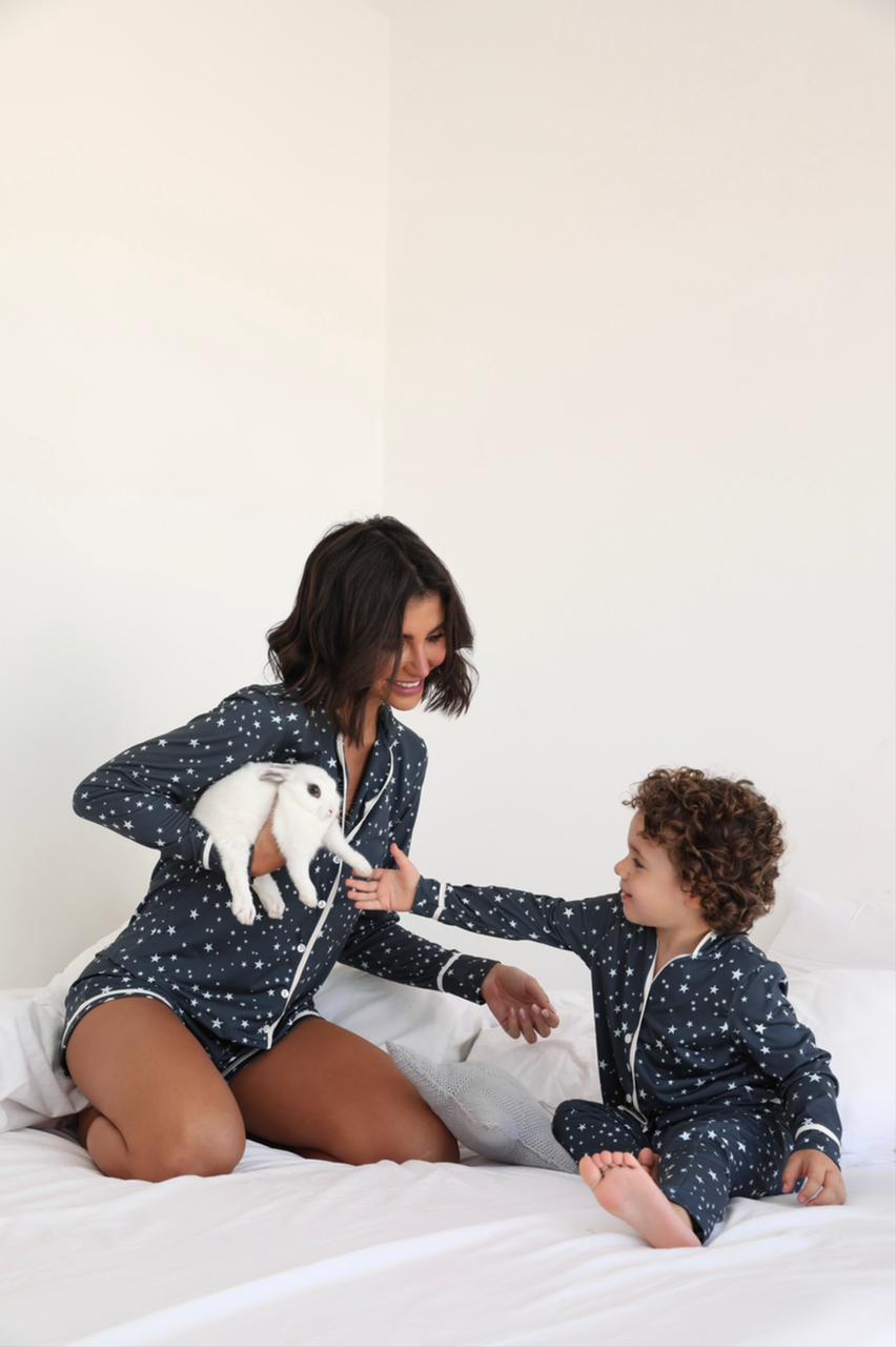 Pijama Curto Infantil Ana paula
