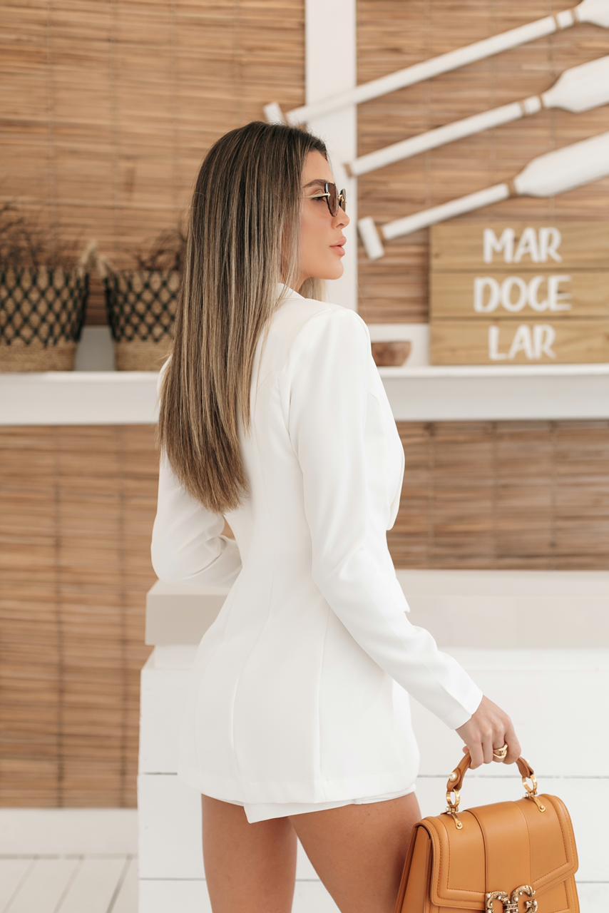 Shorts Saia Fabiola Alfaiataria Cores